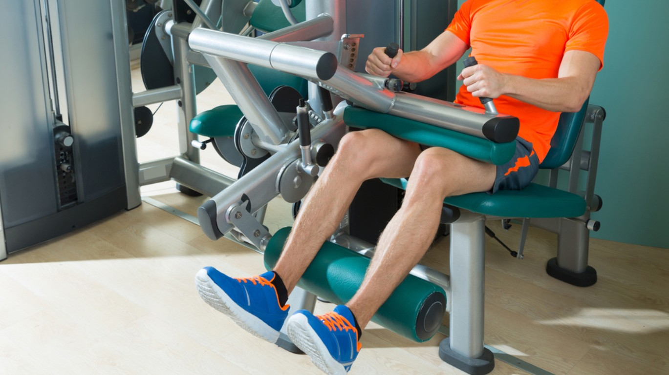 How To Use The Leg Curl Machine