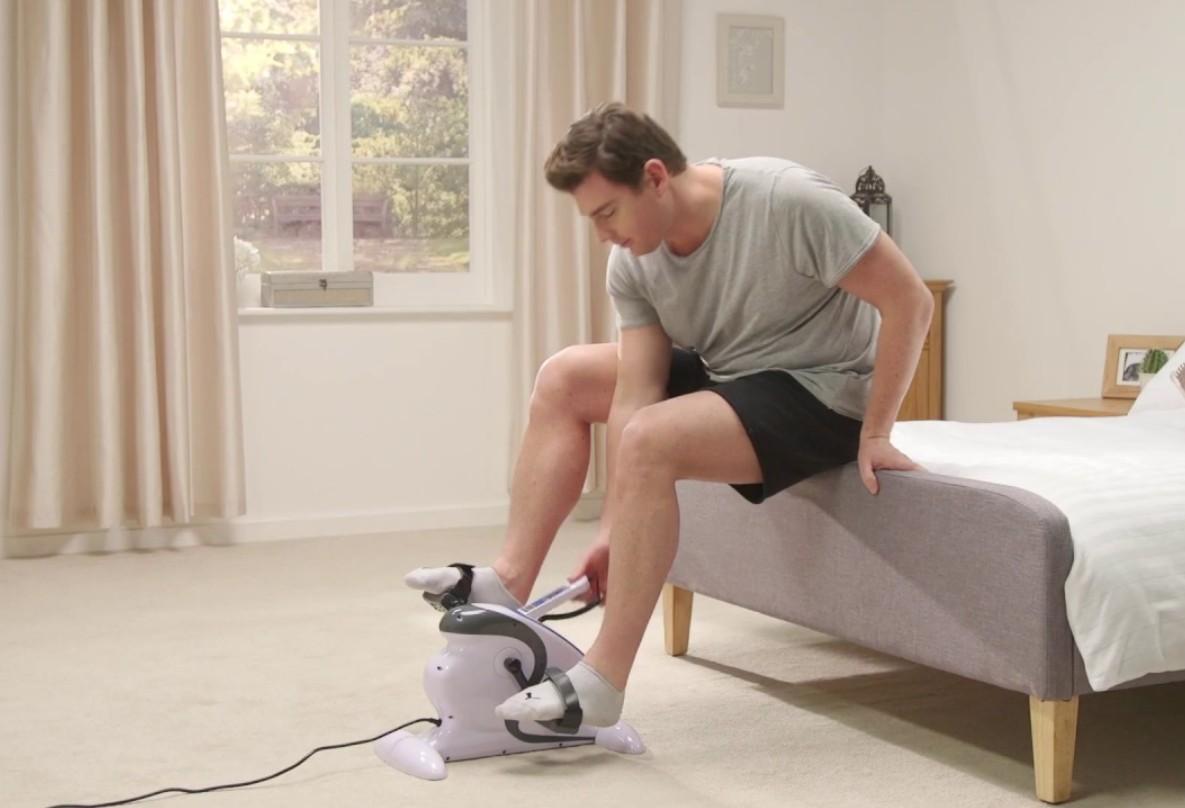 How To Use A Mini Exercise Bike
