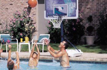 How To Make A Poolside Basketball Hoop
